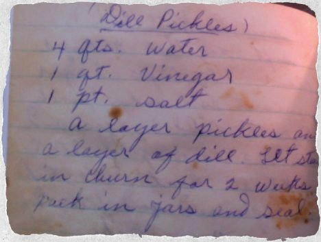 Dill Pickle Recipe 2
