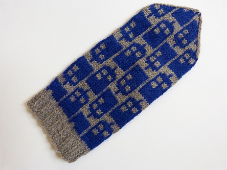 Police Box Mitts
