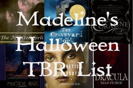 Halloween TBR List